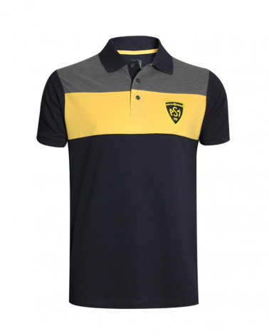 Polo Andycler ASM manches courtes marine homme