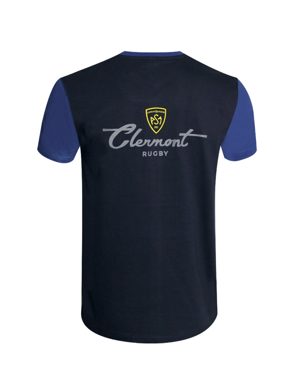 Tee-shirt Clergriff ASM manches courtes marine/roi homme